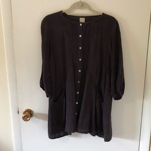 RAKU | linen blouse